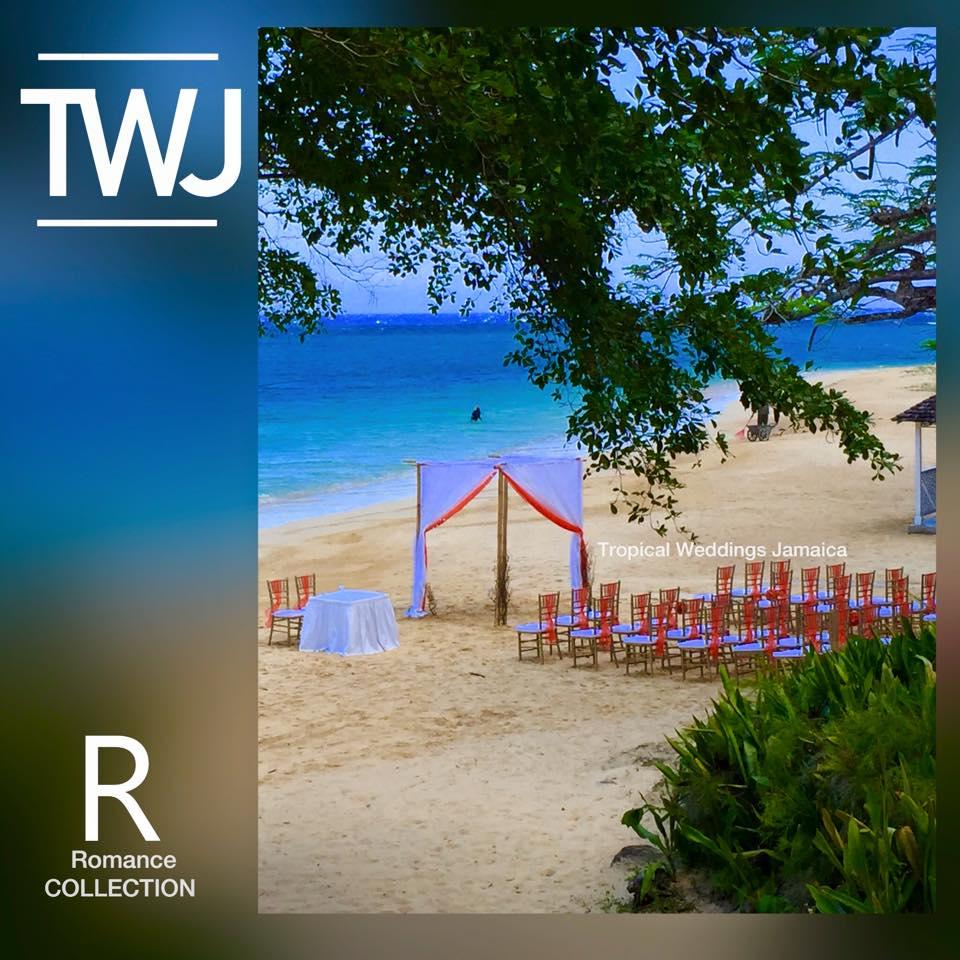 beachside wedding in jamaica