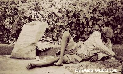 Jamaican Homeless Man