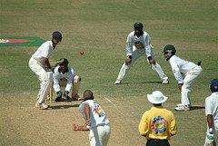 Cricket Match at Sabina Park