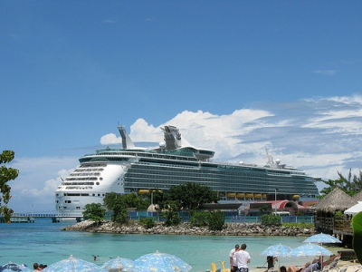 cruise ship in jamaica