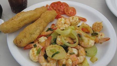 jamaican garlic shrimp