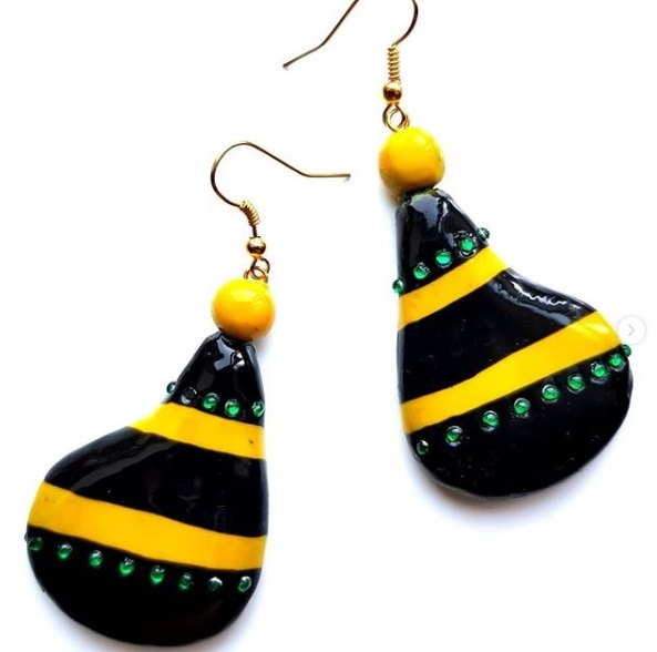 Jamaican Jewelry (Ear Rings)