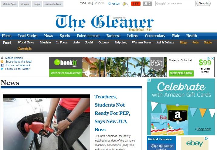 jamaican_newspapers_gleaner_aug_2018