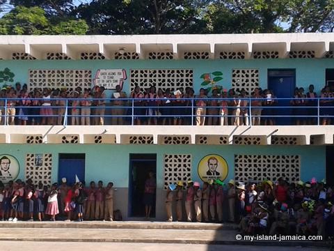 Jamaican School - Howard Cooke Primary