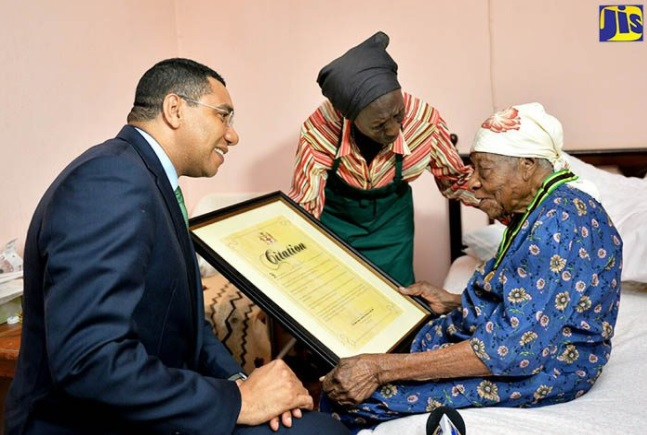 jamaica's violet brown, world's oldest woman in 2017