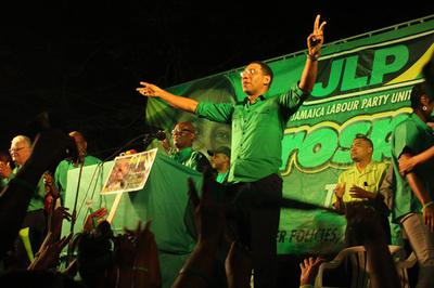 JLP Wins Jamaica Elections 2016