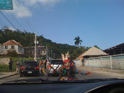 Jonkonnu 2009 in St. Mary, Jamaica