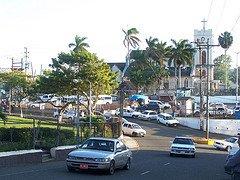 mandeville jamaica traffic