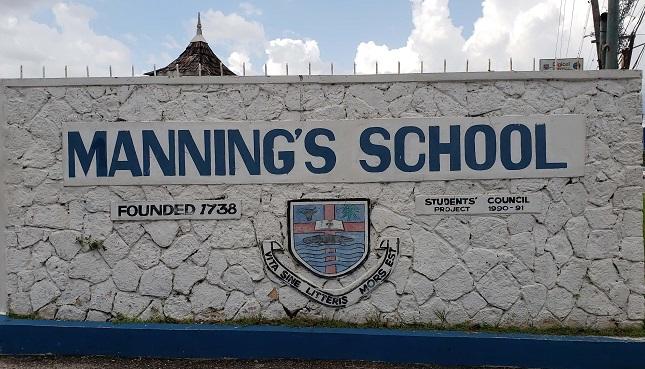 2018 ranking of high schools in Jamaica - mannings school