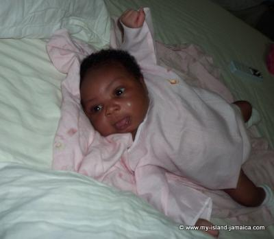 Baby Aliana Gayle - 1 week, 2 days old