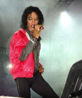 Jamaica's Michael Jackson<br><font size=-1>Photo Source: The Jamaica Star</font>
