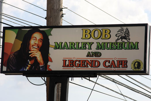 bob marley museum in Kingston Jamaica