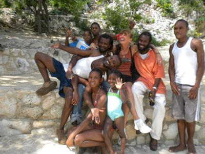 Blue Hole in Negril