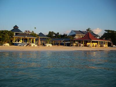 View Of Negril Treehouse from the sea<br><font size=1>source:flikr.com (catervwood)</font>