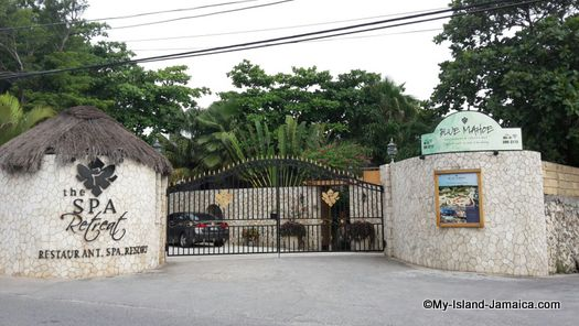 negril_jamaica_resorts_the_spa_retreat_hotel_gate_