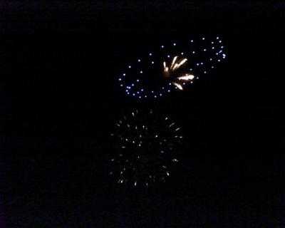 Fireworks in Negril