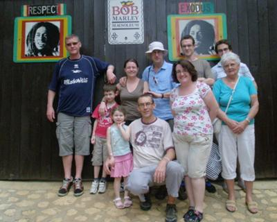 My family & friends visiting Nine Miles