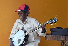 Uncle Lloyd with Banjo