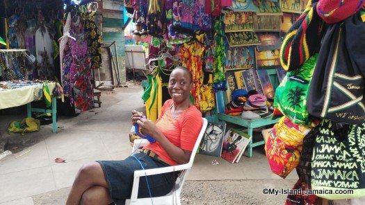Ocho Rios craft market, St. Ann