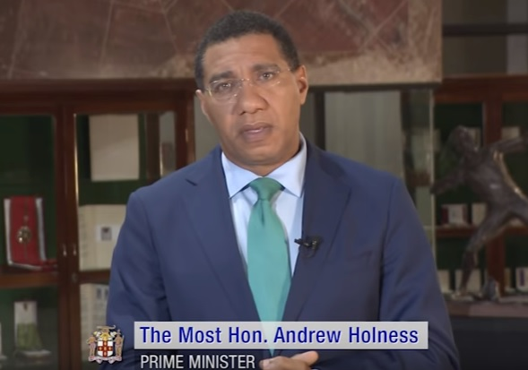 Andrew Holness - Not president but Prime Minister Of Jamaica