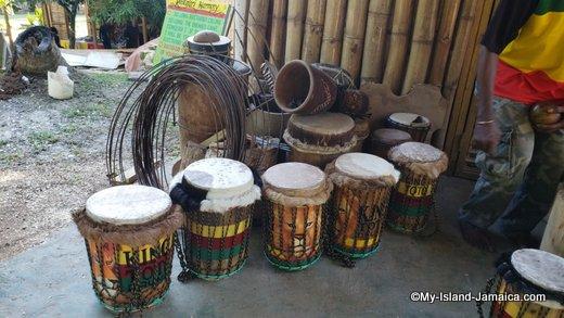 Drums at the Rastafari Village