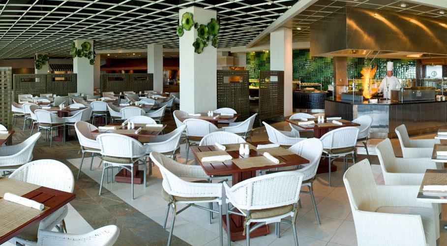 Restaurant At Hilton Rose Hall Resort Jamaica