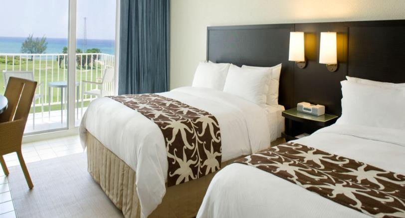 Rooms at hilton Rose Hall Resort Jamaica