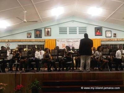RECITAL 2012 - Sam Sharpe Teacher's College Community Band - The Young Jamaica Ensemblem Sharpe