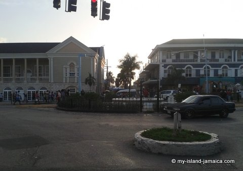 Sam Sharpe Square In Montego Bay, St James (Jamaica Parishes)