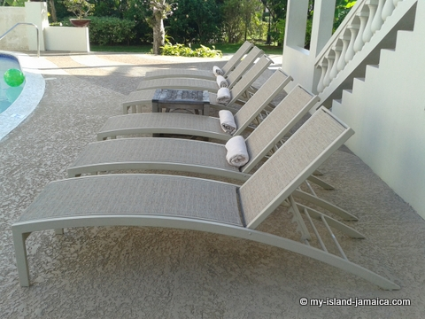 Lounge Chairs At Sandy Haven Resort
