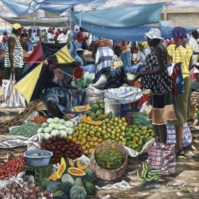 Jamaican Food Market