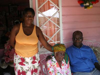 Granny and a Visit from Pastor