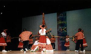 traditional jamaican dance - maypole
