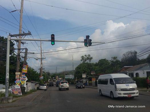 driving around jamaica as a tourist