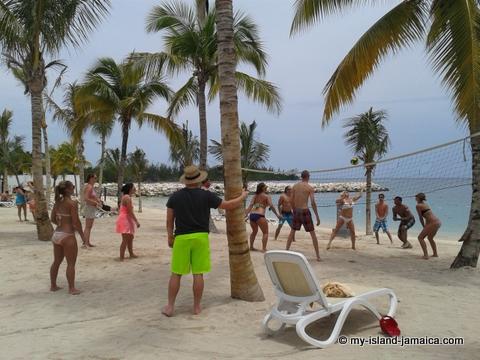 Beach Volleyball at Palace Riu Jamiaca