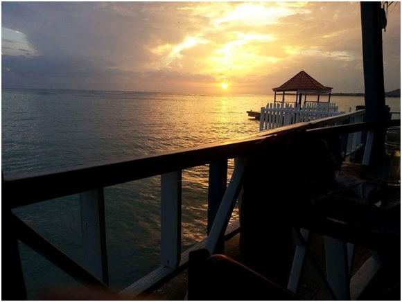 white_house_jamaica_blue_waters_grill_sunset_view