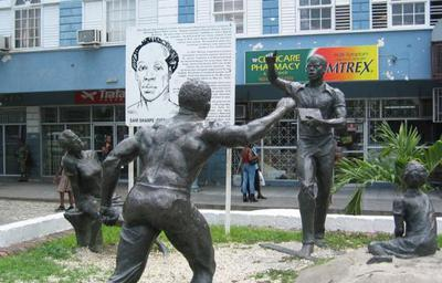 Statue Of Sam Sharpe In Montego Bay