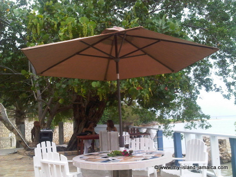 Blue Waters grill_westmoreland_patio_umbrellas